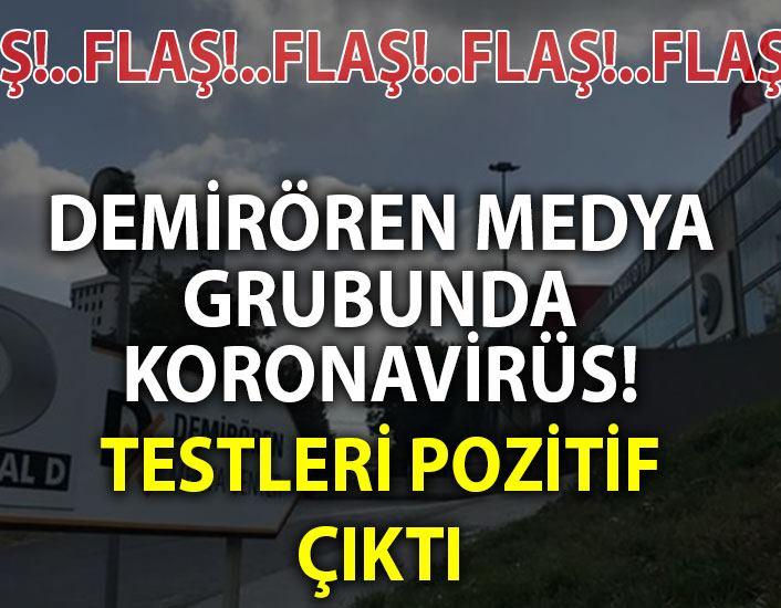 DEMİRÖREN MEDYA GRUBUNDA KORONAVİRÜS!