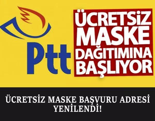 E Devlet Ücretsiz Maske Dağıtımı Başvuru Formu
