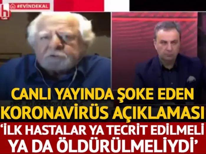 """""""İLK HASTALAR YA TECRİT EDİLMELİ YA DA ÖLDÜRÜLMELİYDİ"""