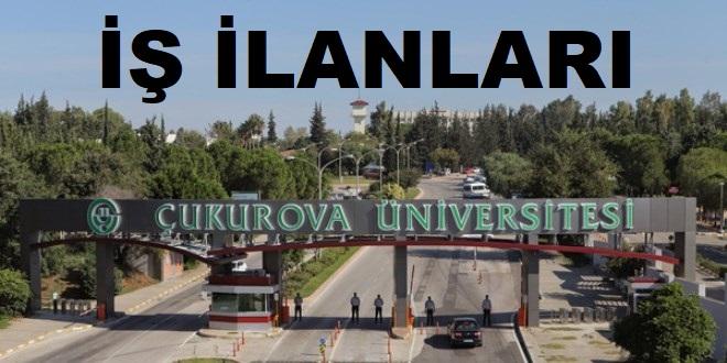 Çukurova Üniversitesi Sağlık personeli İş İlanları 2020