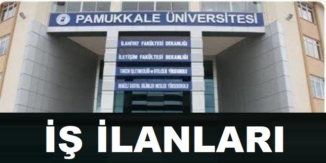 Pamukkale Üniversitesi Sağlık Personeli iş İlanları 2020