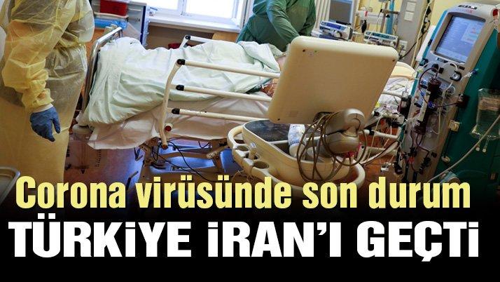 Corona virüsünde son durum! Türkiye, İran'ı geçti...