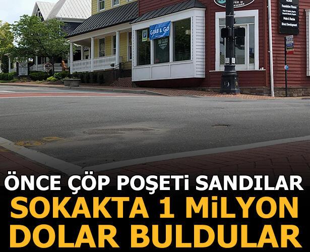Yolda bulduğu yaklaşık 1 milyon dolar nakit parayı polise teslim etti