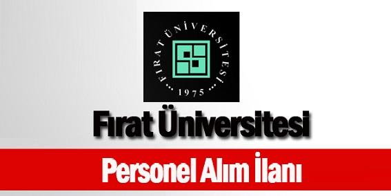Elazığ Fırat Üniversitesi Fizyoterapist, Hemşire ve Sağlık Teknikeri Alıyor