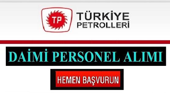 Türkiye Petrolleri TPO Avukat personel Alıyor