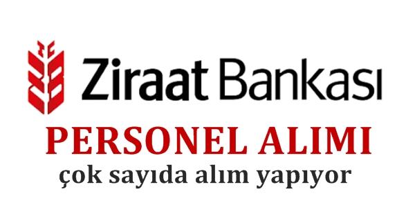 Ziraat Bankası 2020 Yılı Memur Alımları