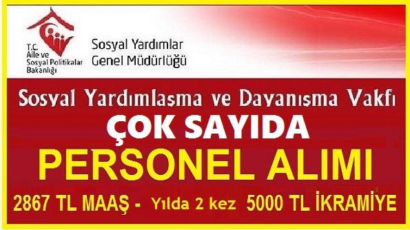 Sivas Divriği SYDV ve İzmir Konak SYDV çok sayıda büro personeli ve işçi alıyor