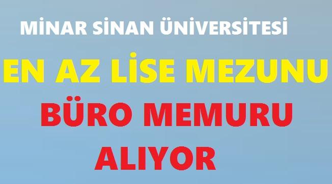 Ankara Müzik ve Güzel Sanatlar Üniversitesi Enaz İlkokul mezunu 65 Kamu Personeli Alımı