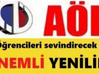 """ATA AÖF Ara Sınav """"Deneme Sınavı"""" Modülü"""