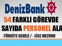 Denizbank 2019 Lise ve Lisans Mezunu Personel Alımı ,