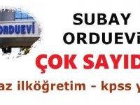 Malatya Orduevi Kamu İşçi Alım İlanı 20 Kasım iş ilanları