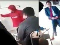 Öğrenciler kaydetti! Sınıfta skandal görüntüler VİDEO