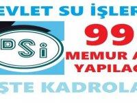 DSİ 995 Devlet Memuru Alımı Bekleniyor Kadroları Ekledik