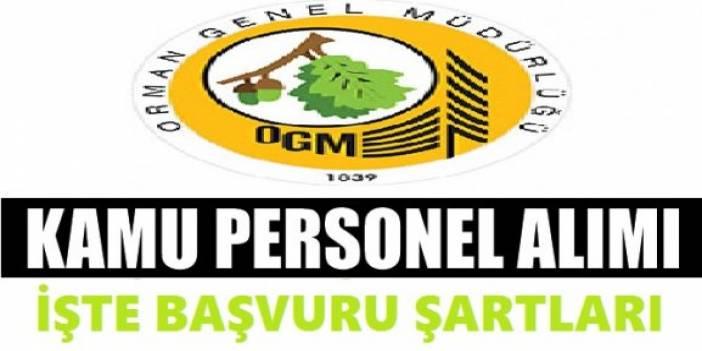Tarım ve Orman Bakanlığı Sözleşmeli Personel Alım İlanı