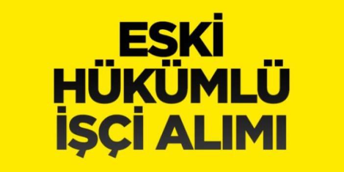 Antalya ve Bartın Tarım İl Müdürlükleri Çok ayıda Eski Hükümlü iş ilanı