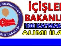 İçişleri Bakanlığı 100 Kaymakam Alımı için ilan yayınlanacak