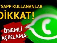 WhatsApp ücretli mi oluyor? Açıklama geldi
