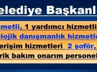 TESKİ ve Süleymanbey Belediye Başkanlığı personel alıyor