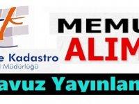 Manisa Büyükşehir Belediyesi Harita Teknikeri ve Harita Kadastro personel alımı