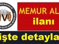 Nüfus ve Vatandaşlık Genel Müdürlüğü memur ilanları