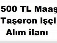 Hatay Erzin Taşeron SYDV Personel Alım İlanı 3500 tl maaş