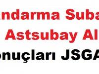 Jandarma Subay ve Astsubay Alımı Sonuçları JSGA