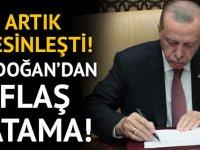 Erdoğan, İsmail Cesur'u yeni danışmanı olarak atadı