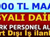 Katarda 5000 TL Maaşla Türk Memur Alınıyor