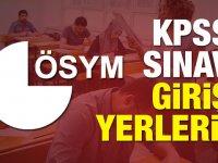 2018 KPSS Ortaöğretim sınava giriş yerleri belli oldu
