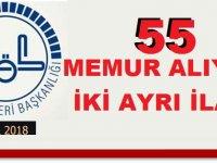 Diyanet iki ayrı ilanla 55 Uzman ve Memur Alıyor