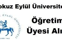 Dokuz Eylül Üniversitesi Öğretim Üyesi Alımı yapıyor