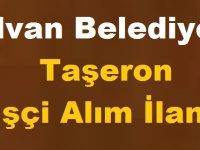 Hilvan Belediyesi Taşeron İşçi Alım İlanı
