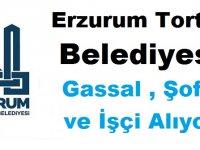 Erzurum Tortum Belediyesi Gassal , Şoför ve İşçi Alıyor