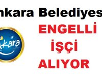 Ankara BELTAŞ A.Ş. 2 engelli İşçi Alacak