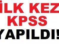 Simavda İlk kez KPSS Yapıldı!