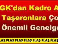 SGK'dan Kadro Alan Taşeronlara Önemli Genelge