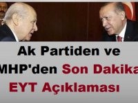 EYT Kanunu MHP ve Ak Parti'nin oylarıyla Reddedildi