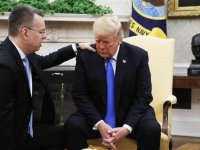 Son Haber Trump Rahip Brunsonla Görüştü! İşte Yaşananlar