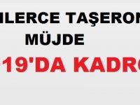 KİT Taşeronuna Kadro 2019 Programına Alındı!