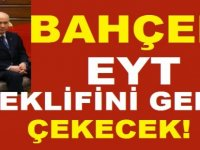 MHP EYT Teklifini Geri Çekecek