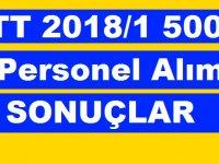 PTT 2018/1 5000 Personel Alımı İlanı Kesin Sonuçlar 19 Ekim 2018
