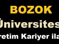 Yozgat Bozok Üniversitesi 8 Sözleşmeli Personel Alacak.