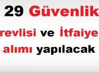 Konya Belediyesine 29 Güvenlik Görevlisi ve İtfaiye Eri alımı yapılacak