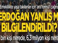 EYT konusunda Erdoğan'a yanlış bilgi mi verildi