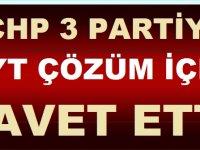 CHP Diğer Partileri EYT için Çözüme Davet Etti