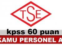 TSE Türk Standartları Enstitüsü 15 Kamu Personeli Alımı