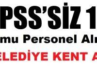 Çanakkale Belediyesi Kent Hizmetleri KPSS'siz 13 Kamu Personeli Alımı