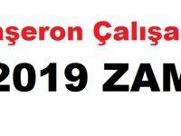 Taşeron Çalışana 2019 ZAM