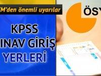 2018-KPSS Ön Lisans Sınava Giriş Belgeleri