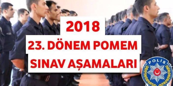 23. Dönem POMEM 10 bin lisans ve önlisans mezunu polis alımı başvuru sonuçları